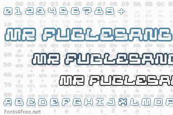 Mr Fuglesang Font