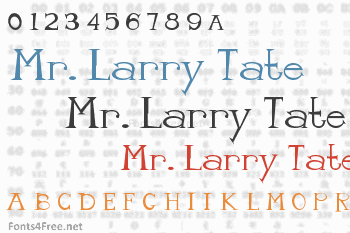 Mr. Larry Tate Font