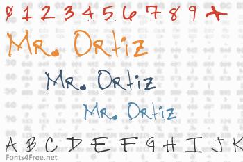 Mr. Ortiz Font