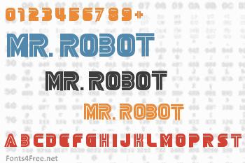 Mr. Robot Font