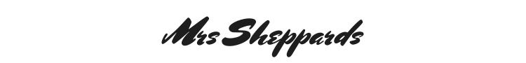 Mrs Sheppards Font