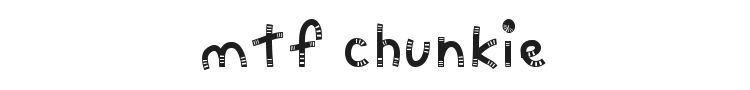 MTF Chunkie Font Preview