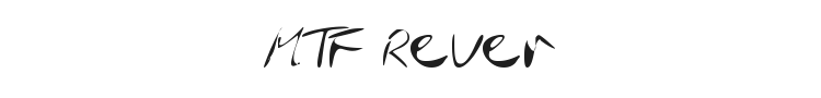 MTF Rever Font Preview