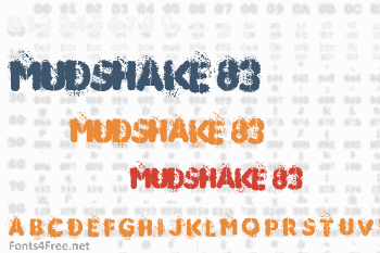 Mudshake 83 Font