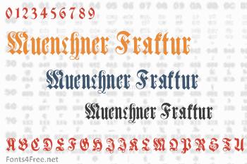 Muenchner Fraktur Font