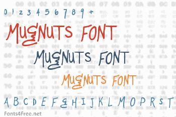 Mugnuts Font