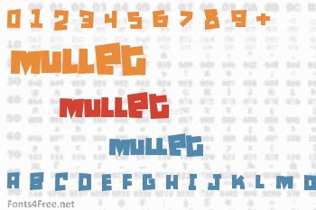 Mullet Font