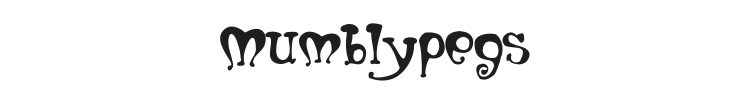 Mumblypegs Font Preview
