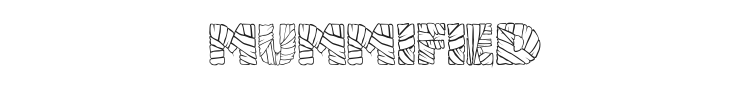 Mummified Font Preview