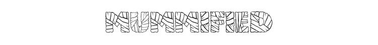 Mummified Font Preview