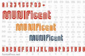 MUNIficent Font