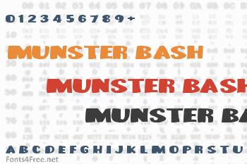 Munster Bash Font