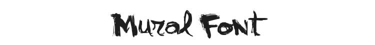 Mural Font