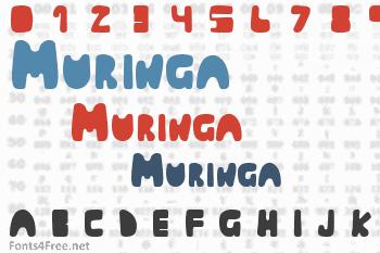 Muringa Font