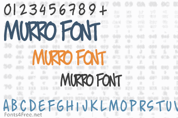 Murro Font