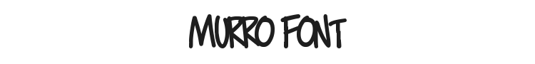 Murro Font Preview