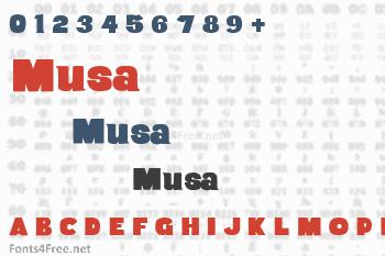 Musa Font