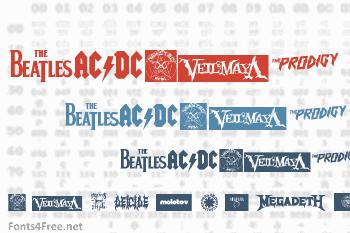 Music Logos Font