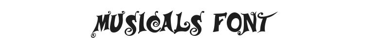Musicals Font