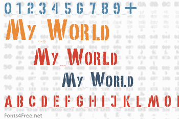 My World Font