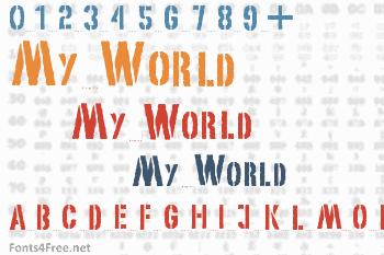 My World Font