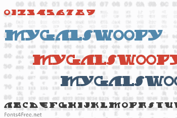 MyGalSwoopy Font