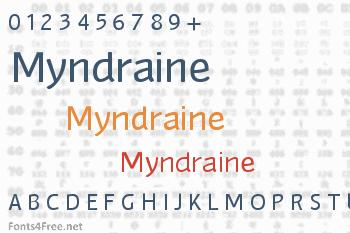 Myndraine Font