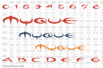 Myque Font