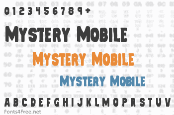 Mystery Mobile Font