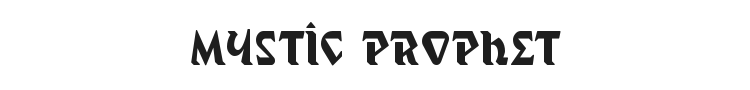Mystic Prophet Font Preview