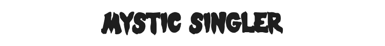 Mystic Singler Font Preview