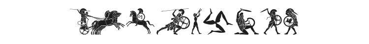 Mythical & Hoplite Noogies Font