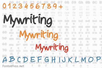 Mywriting Font