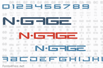 N-Gage Font