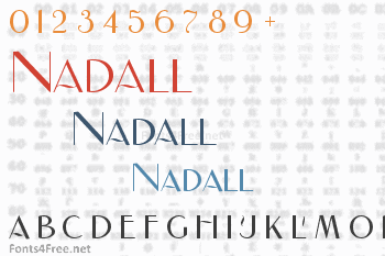 Nadall Font