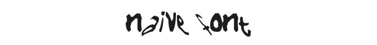 Naive Font