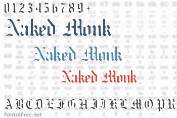 Naked Monk Font