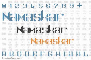 Namaskar Font