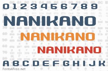 Nanikano Capsule Font