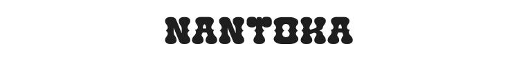 Nantoka Western Font Preview