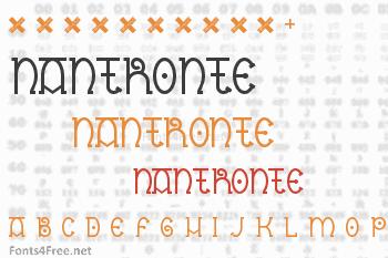 Nantronte Font