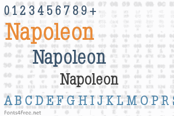 Napoleon Font