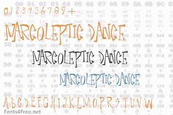 Narcoleptic Dance Font