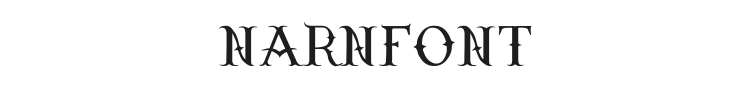 Narnfont Font Preview