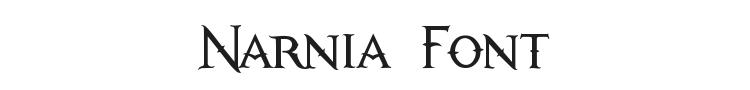 Narnia Font
