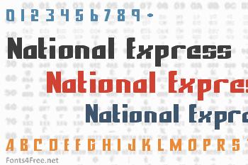 National Express Font