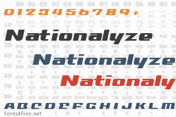 Nationalyze Font