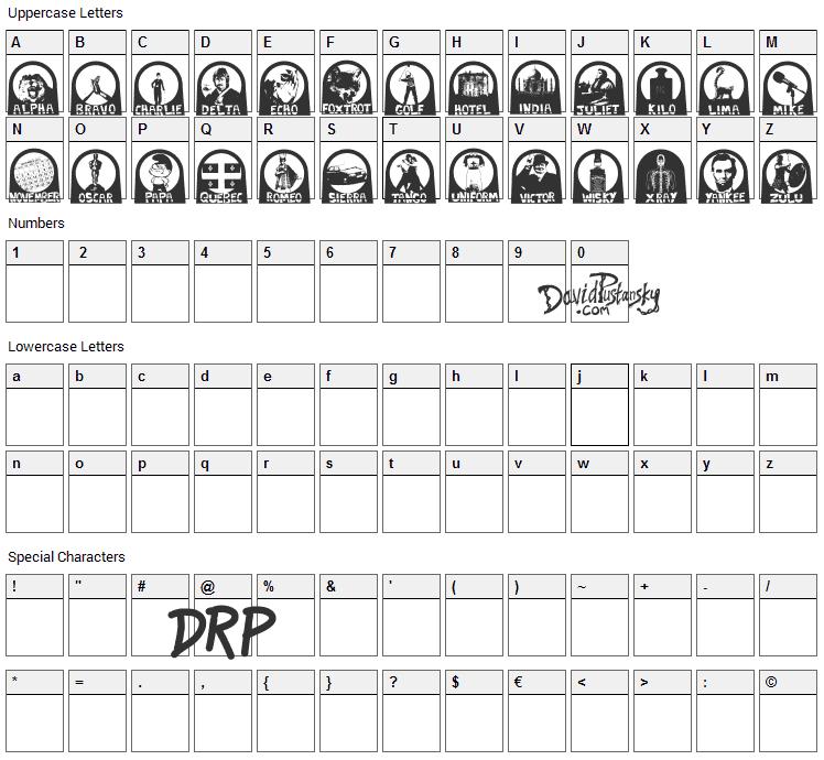 Nato Phonetic Alphabet Font Download Fonts4free