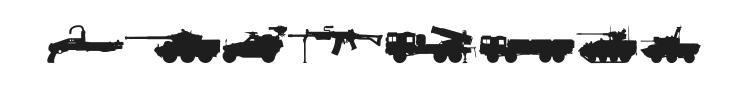 NATOkit Font Preview