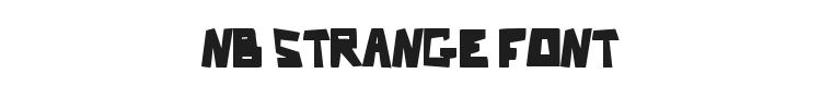 Nb Strange Font Preview